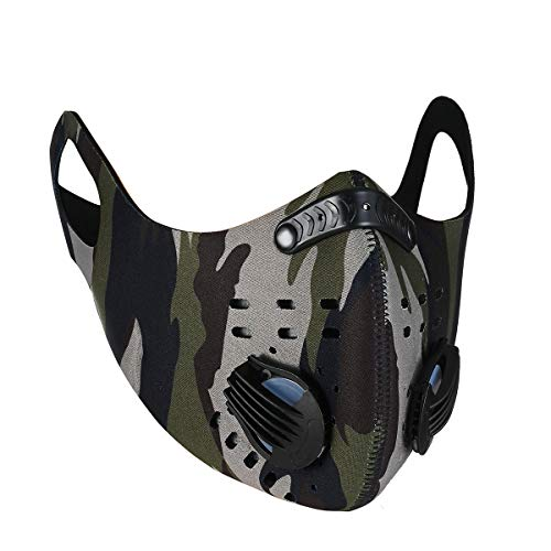 PIPITREE Face Mask Motorcycle Face Mask for Men Women Half Face Mask Sun UV Dust Wind Protection Breathable Rave Face Scarf Neck Gaiter for Biker Riding