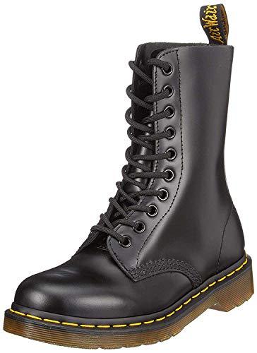 Dr. Martens 1490, Botas Militares Unisex, Negro (Black), 37 EU