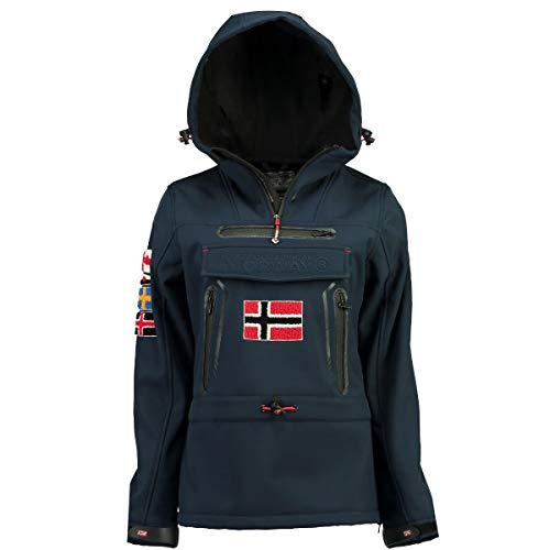 Geographical Norway Chaqueta Softshell DE Mujer TYKA Azul Marino S