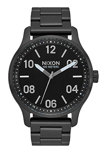 Nixon Reloj Analógico para Unisex Adultos de Cuarzo con Correa en Acero Inoxidable A1242-180-00