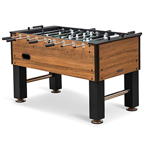 EastPoint Sports Official Competition Size Deluxe Foosball Table for Multiplayer Indoor Play - Includes 4 Foosballs