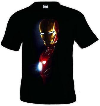 Mx Games Camiseta Ironman Negra (Medio Torso) (Talla: TallaXS ...