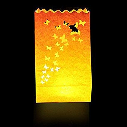 Pack de 10 bolsas de luz (luminosas)-Candle Bags.