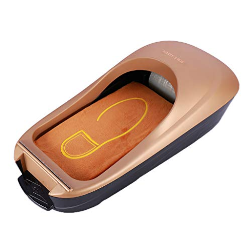 sharprepublic Dispensador Automático De La Cubierta del Zapato Máquina Zapata Membrana Zapata Película Alfombra del Piso - Oro, Individual