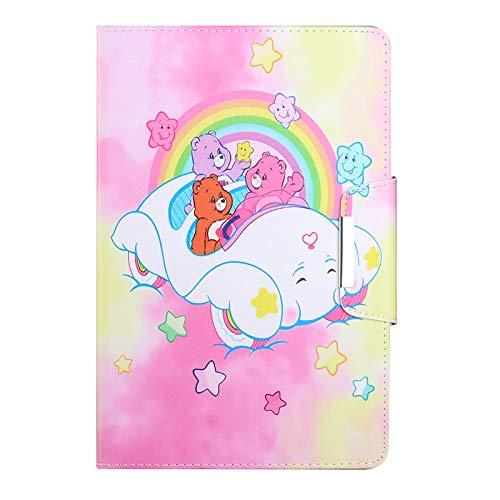 JIan Ying Funda para Samsung Galaxy Tab A7 10.4 (2020) SM-T500 SM-T505 Slim ligero Peint Protector Cover Coche Elefante