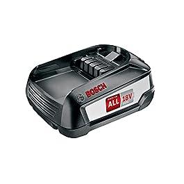 Bosch BHZUB1830 Batterie Rechargeable 3000 mAh 18 V – Batteries Rechargeables (3000 mAh, 18 V, Noir, 1 pièce(s))