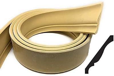 "FLEXTRIM #47 Flex Crown: 9/16"" x 4-5/8"" Flexible Crown Molding - 12' feet Long (144"" Long)"