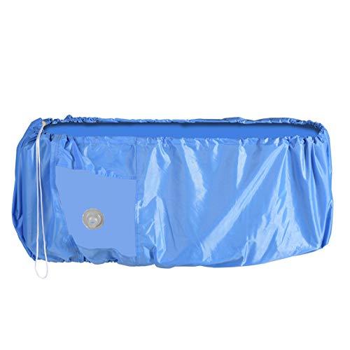 Gmkjh Cubierta de Lavado de Aire Acondicionado, Cubierta de Lavado de Polvo de Limpieza de Aire Acondicionado Protector Impermeable Color Azul(L)