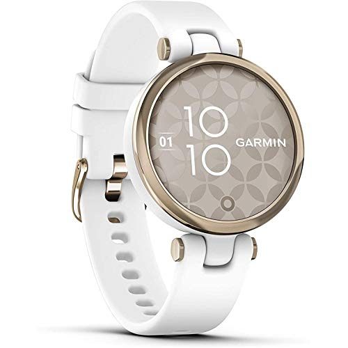 Garmin Lily Sport Reloj Inteligente, Blanco Light Gold