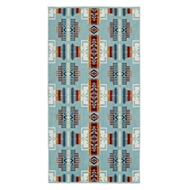 Pendleton Jacquard Chief Joseph Aqua Bath Towel