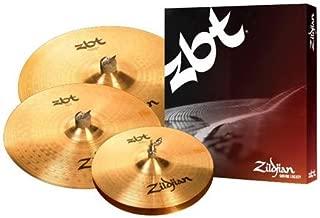"Zildjian ZBT Series 3-Piece Cymbal Pack with Free 16"" Crash"
