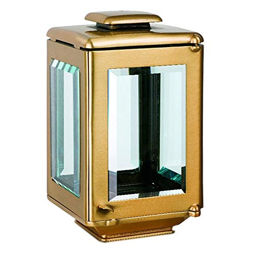 REAL VOTIVA FONDERIE D'ARTE Lampe Bougie Moyenne pour Pierres tombales - Bronze [T.05.2516/24]