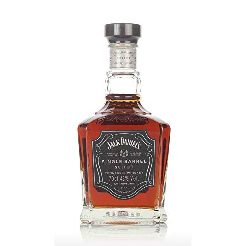 Jack Daniels Single Barrel Select Tennessee Whiskey 700ml Pack (70cl)