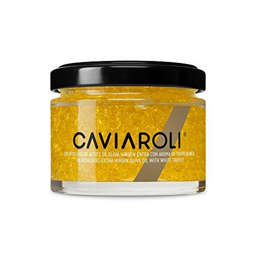 Caviaroli - Encapsulado de Aceite de Oliva Virgen Extra Trufa Blanca - 50 g