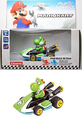 Yoshi - Mario Kart 8 - Fricção - 1/43 - Carrera Play