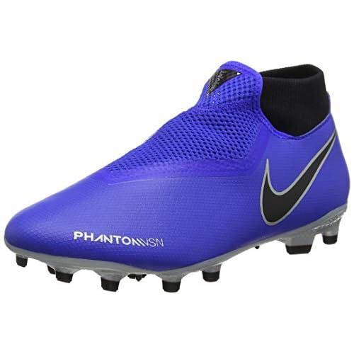 Nike Phantom Vision Academy Dynamic Fit MG, Scarpe da Calcio Unisex-Adulto, Blu (Racer Blue/Racer Blue-Black 400), 42.5 EU