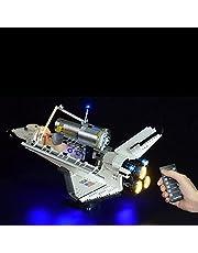 LYCH Led-verlichtingsset afstandsbediening voor LEGO Nasa Space Shuttle Discovery model, verlichting compatibel met LEGO 10283, zonder Lego-set