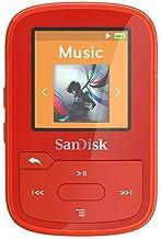 $37 » SanDisk 16GB Clip Sport Plus MP3 Player, Red - Bluetooth, LCD Screen, FM Radio - SDMX28-016G-G46R (Renewed)