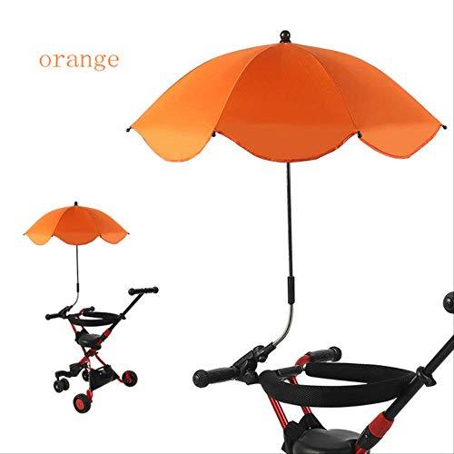 NJSDDB Paraplu, universeel, voor kinderwagen, parasol, push-paraplu, uv-bescherming, parasol voor kinderen