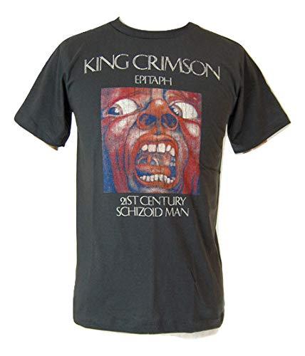 KING CRIMSON/キング・クリムゾン クリムゾン・キングの宮殿 ロックTシャツ バンドTシャツ S チャコール