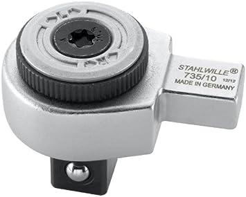 """Stahlwille QR Ratchet Insert Tool 9 x 12 mm 1//2/"""" pouces Drive-STW725QR10-58253005"""