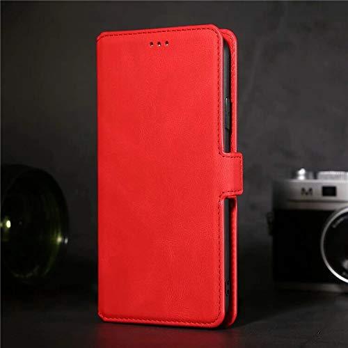 HHF Teléfono móvil Accesorios para Huawei P Smart 2020 P30 P40 PTR Plus P40 Lite E 5G, Magnetic Luxury Cuero Flip Wallet Hoder Stain Stand Cover para Huawei Honor 10 Lite 10i Nova 5i 3e 4e 6Se 7i Y7P
