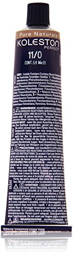 Wella Professionals Koleston Perfect Permanente CremeHaarfarbe, 11/ 0 extra lichtBlond, 1er Pack (1 x 60 ml)