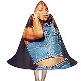 YRUI Ma-Riah-Ca-Rey In Jeans - Capa con capucha para niños, disfraz de Halloween, color negro y pequeño