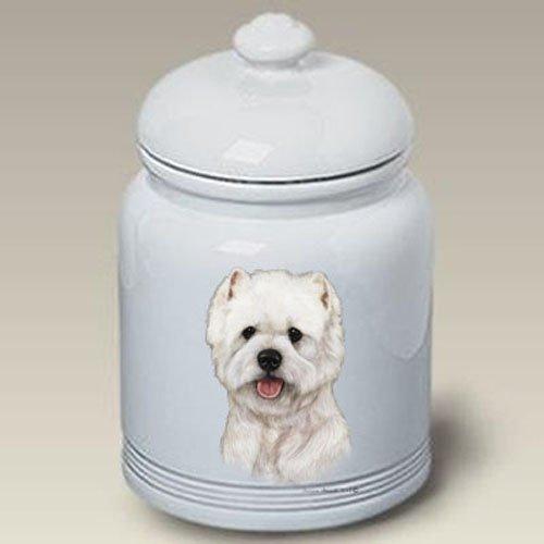 Westie - Tamara Burnett Treat Jars