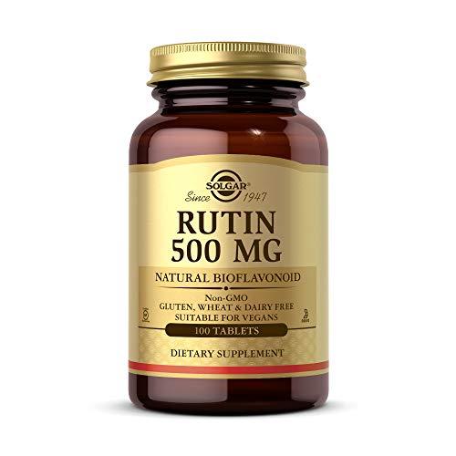 Solgar Rutina 500 Mg - Comprimidos, Multicolor, 100 Tabletas