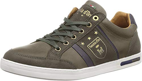 Pantofola d'Oro Mondovi - Sneaker basse da uomo, Verde (Verde oliva 52a.), 49 EU