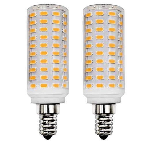 E14 LED Lampe 1400Lm 10W Ersetzt 130W 120W Warmweiß 3000K AC 220V 230V Schlafzimmer Wandleuchte Wohnzimmer Kronleuchter Tischleuchte Leuchtmittel Klein Wandlampe 2er Pack [MEHRWEG]