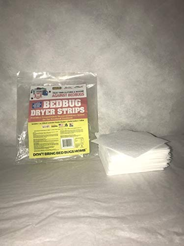 KiltronX Live-Free Bed Bug Dryer Strips (50 Dryer Load Count)