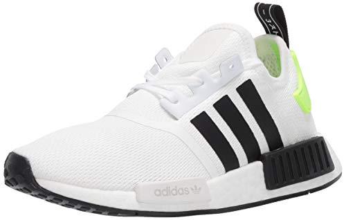 adidas Originals Kinder NMD_R1 Sneaker, (Weiß / Schwarz), 37 EU