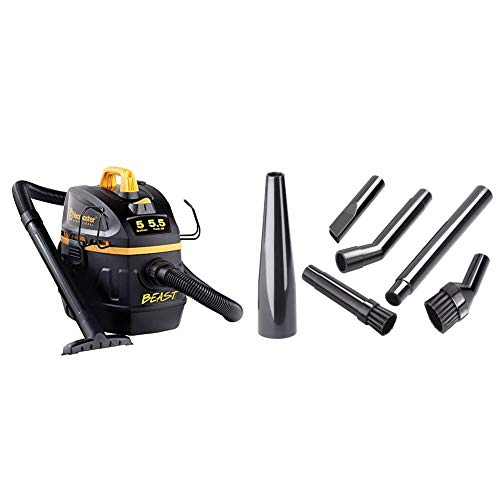 Vacmaster Professional - Professional Wet/Dry Vac, 5 Gallon, Beast Series, 5.5 HP 1-7/8