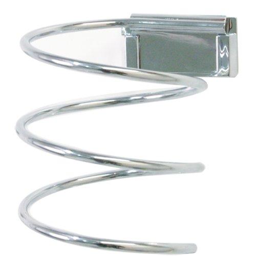 Enzo Rodi 606710 Haartrocknerhalter aus Messing rostfrei Chrom 11,8 x 9 x 9 cm