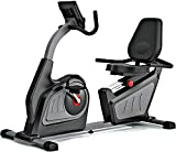 Sentado en línea con la máquina ergonómica de fitness, vídeo en tiempo real y generador de sonido integrado multijugador, pulso opcional con bicicleta estática,Grey