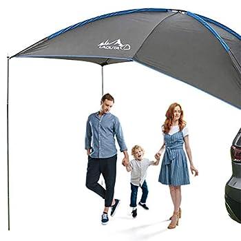 Otherway Tente De Hayon pour Voiture-auvent - Tente De Camping Automatique Résistante À La Déchirure Imperméable À l'eau Auvent Latéral De Voiture Durable Tente Anti-UV