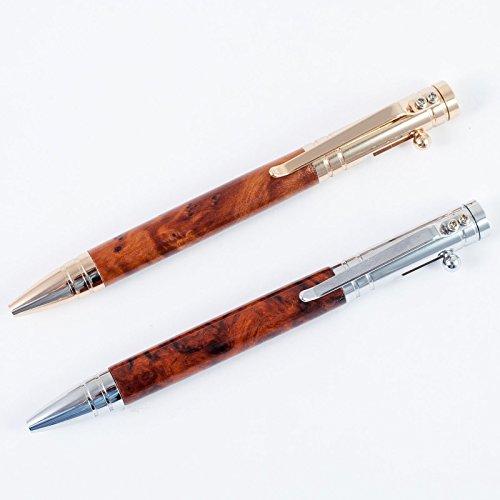 Repetier Kugelschreiber mit Großraummine aus Holz Modell