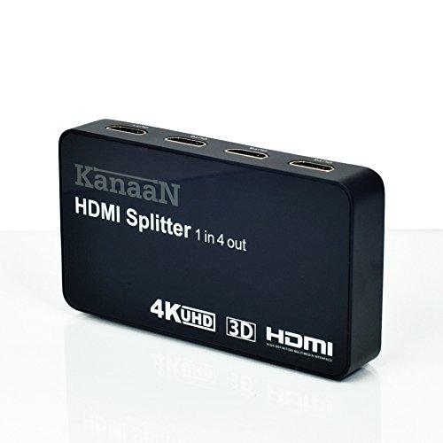 Splitter 4K HDMI de KanaaN - 1x4 - 1...