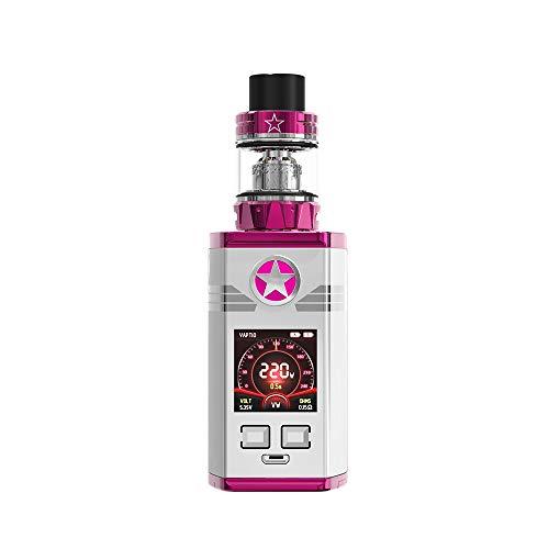 Vaptio CAPT'N paragon Kit 220W Cigarrillos electrónicos E-Cigarette TPD Cumple, Sin Tabaco y Sin Nicotina (4ml, Rosado)