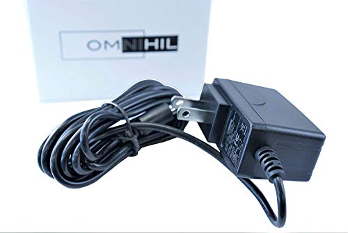 Omnihil 9V AC Power Adapter PSU Compatible with Schwinn 270 Recumbent Bike (8 Feet Cable)