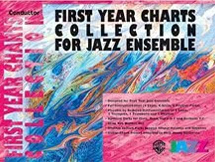 Alfred Publishing 00-sbm01014First Year Charts Collection for Jazz Ensemble–Music Book