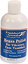 Frankford Arsenal 8 oz. Bottle of Ammonia-Free Quick-N-EZ Brass Polish for Tumbler and Reloading