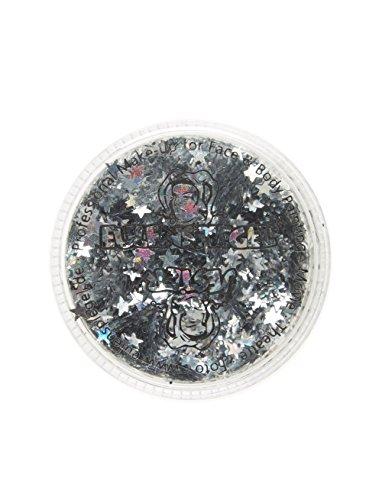 Chouette miroir – Argent étoiles – Glitter Holographic