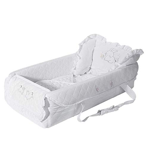 Buy Discount RRH-Cribs Travel Crib Portable Multifunction Bionic Compressive Pressure Ridge Protecti...