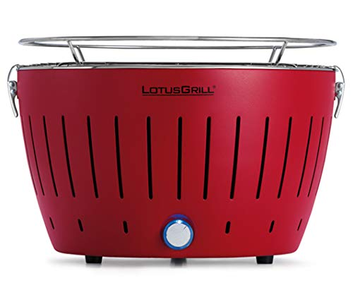 LotusGrill Barbecue Carbon-Desktop, Rot