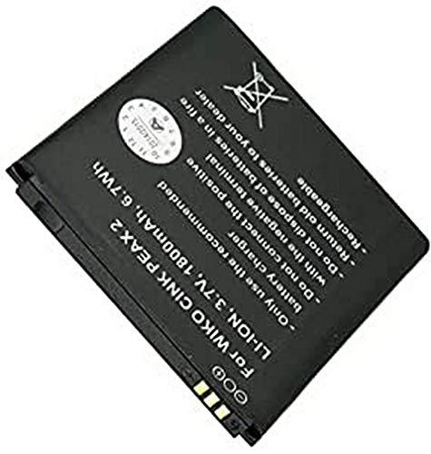 AccuCell Akku passend für den Wiko Cink Peax 2 Akku S104-E880000-001, 1800mAh