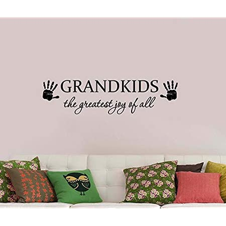 Graphic Vinyl Decal Sticker Art wall sticker, The greatest joy in Life Wall Words wall quote Wall decal