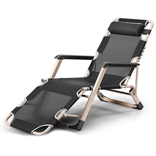 WUTONG Sillón reclinable Relax Zero Gravity más cómodo, cámping Festivals Garden Chair, Widen Chair Design Sleep Comfortable